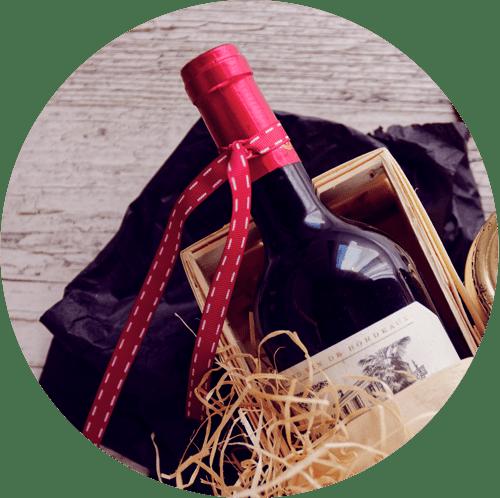 coffret cadeau bouteille
